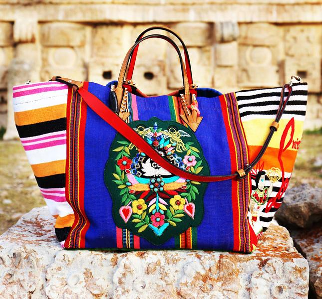 Christian Louboutin Mexicabas Tote Bag