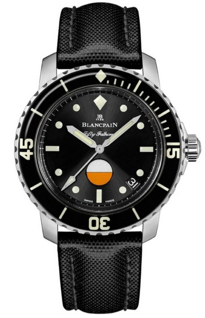 40mm Stainless Steel Tribute to Fifty Fathoms Mil-Spec by Blancpain