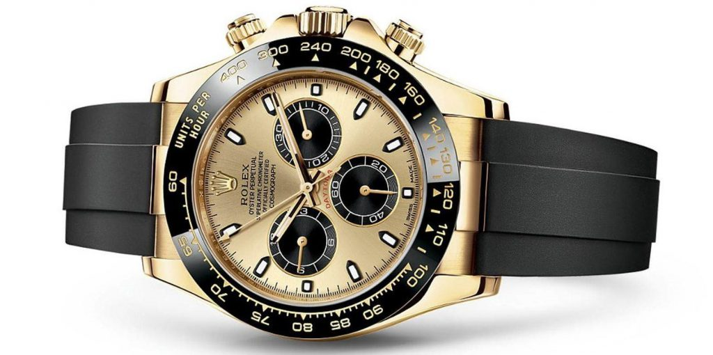 40mm Yellow Gold Oyster Perpetual Cosmograph Daytona by Rolex