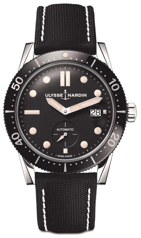 42mm Stainless Steel Diver Le Locle By Ulysse Nardin