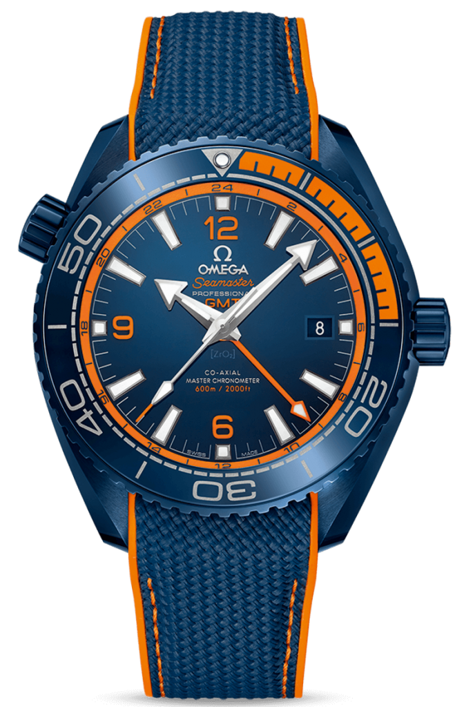 45.5mm Ceramic Seamaster Planet Ocean 'Big Blue' by Omega