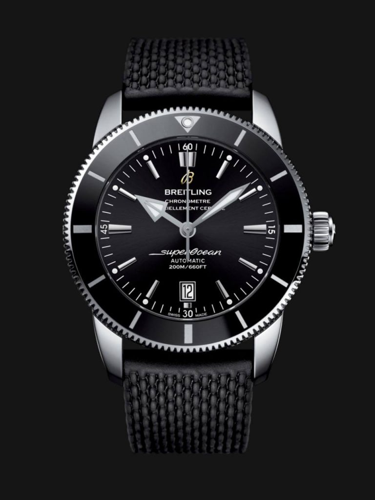 46mm Stainless Steel Superocean Héritage II 46 by Breitling