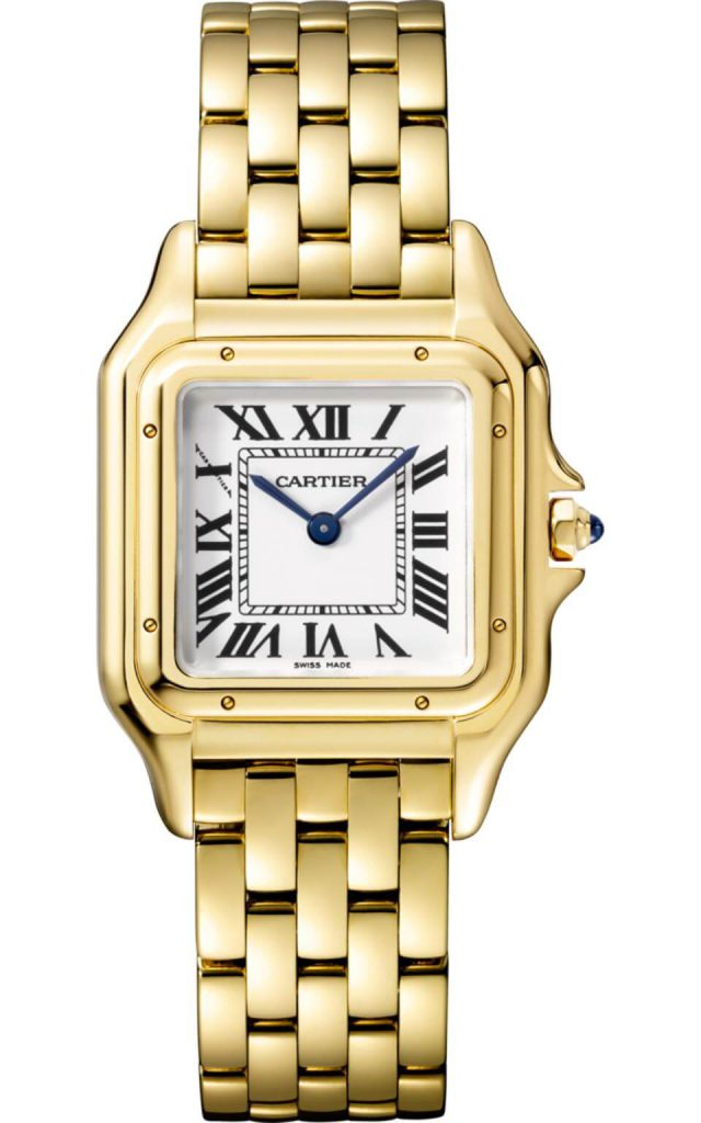 27mm Yellow Gold Panthère de Cartier by Cartier