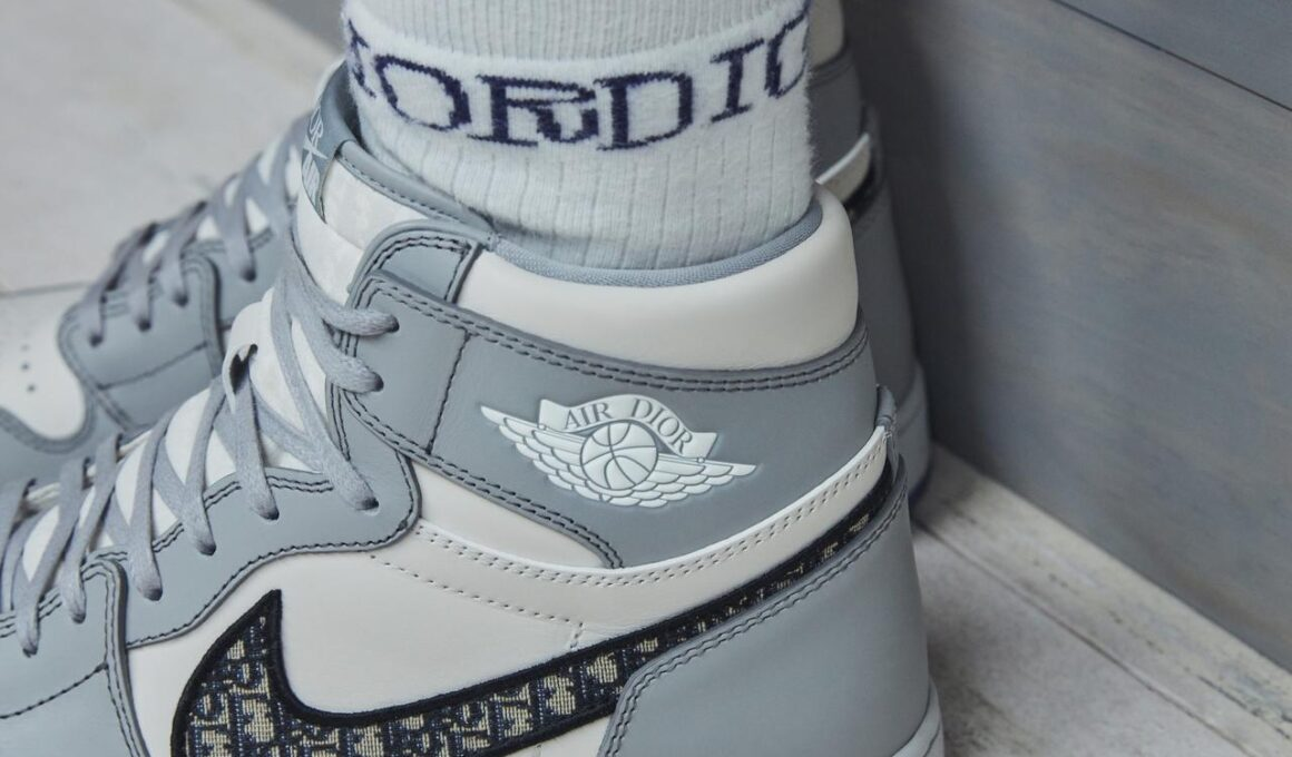 Collaboration Dior Nike Jordan